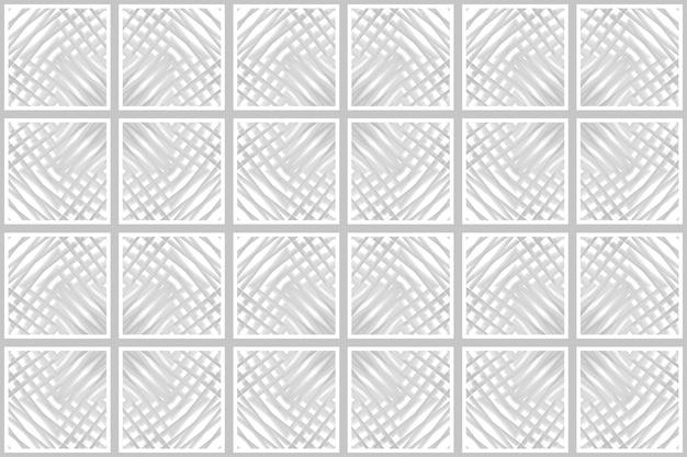 Nahtlose moderne quadratische kunst muster keramikfliesen textur wand hintergrund.