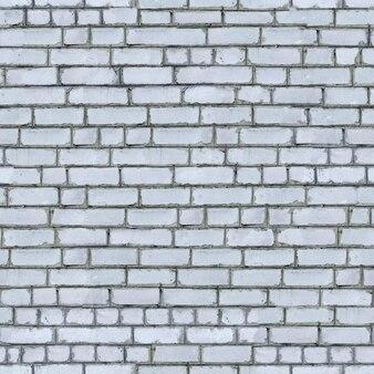 Nahtlose textur der weißen backsteinmauer.