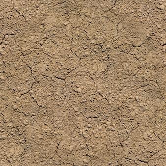 Nahtlose textur - trockener, rissiger sand oder lehmboden