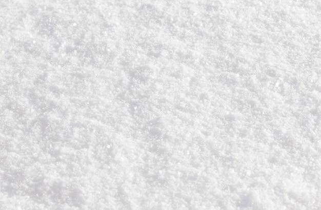 Nahtloser frischer weißer schneehintergrund