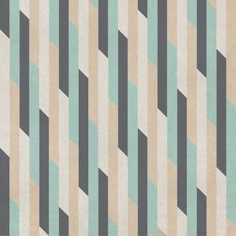 Nahtloser geometrischer hintergrund. muster auf papier textur