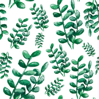 Nahtloser hintergrund mit aquarellkaktus und -succulent. aquarellillustration für gewebe, gewebe und muster.