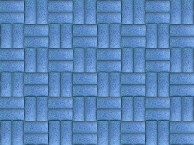 Nahtloser sortierter blauer farbweinkorken-musterhintergrund.
