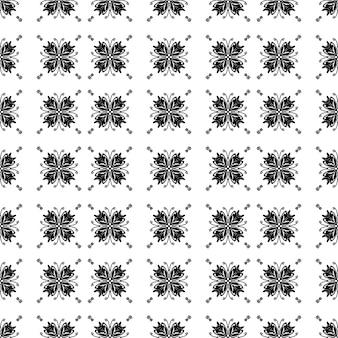 Nahtloser traditioneller schwarzer mosaikmusterhintergrund