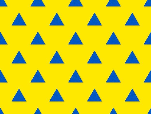Nahtloses geometrisches dreiecksmuster. minimalistische geometrie-abstraktes muster-design.