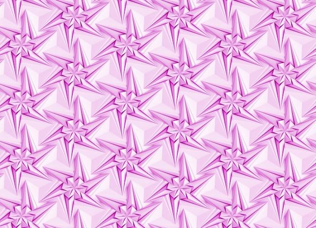 Nahtloses muster basierend auf sechseckigem gitter