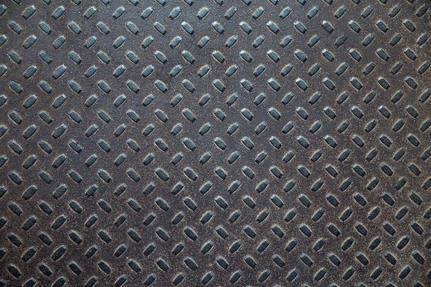 Nahtloses muster der dunklen metallstruktur