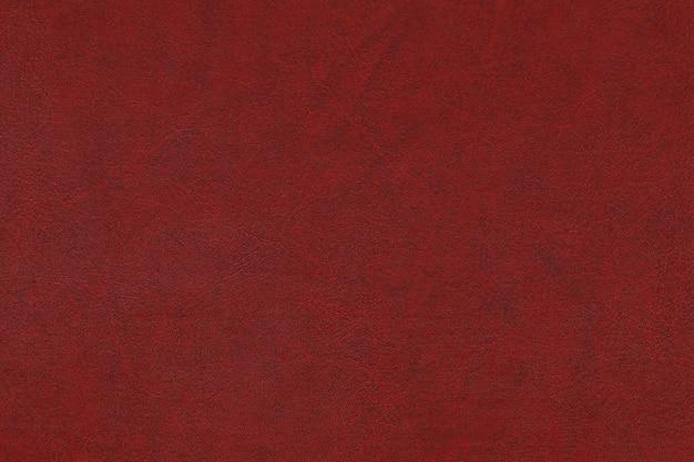 Nahtloses muster des roten, kastanienbraunen kunstlederoberflächenhintergrunds