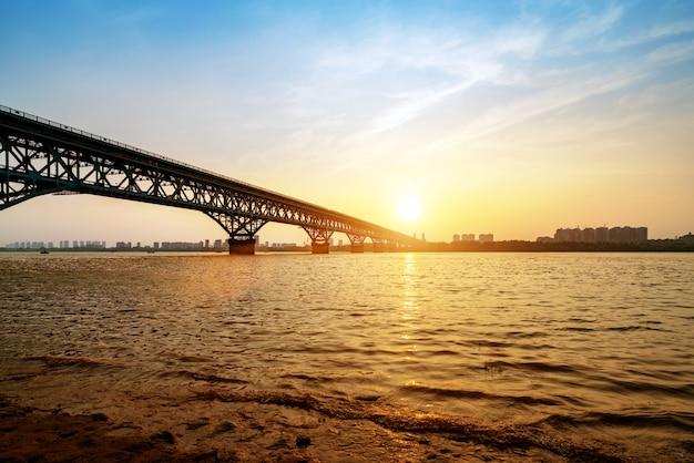 Nanjing yangtze river brücke