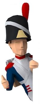 Napoleonischer grenadier