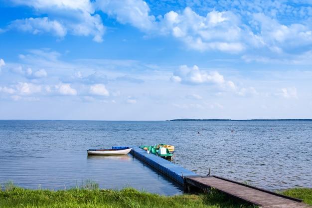 Naroch - größter see in belarus