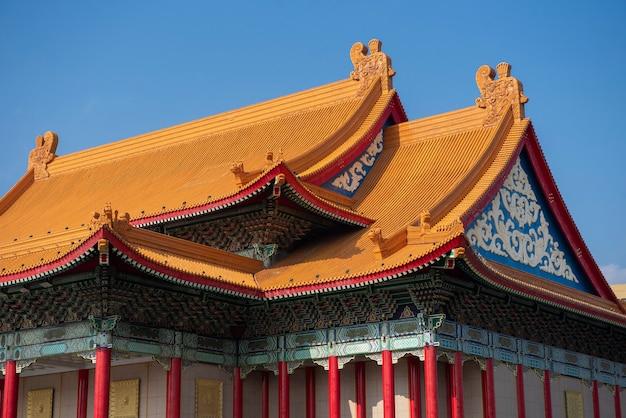 Nationaler konzertsaal in taipeh, taiwan