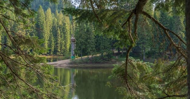Nationaler naturpark synevyr oblast transkarpatien ukraine