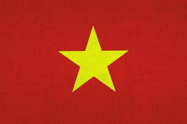 Nationalflagge baumwolle von vietnamesen