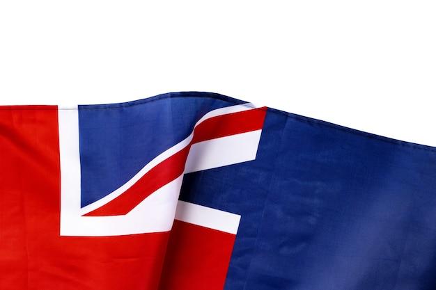 Nationalflagge von australien, textilgewebe