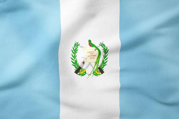 Nationalflagge von guatemala