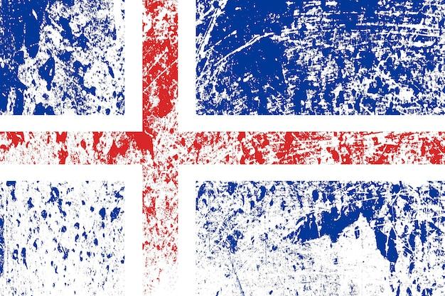 Nationalflagge von spanien mit textur. vorlage für design