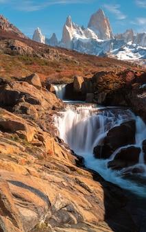Nationalpark los glaciares, provinz santa cruz, patagonien, argentinien, montierung fitz roy.