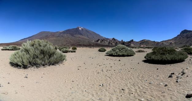 Nationalpark teide in teneriffa, spanien