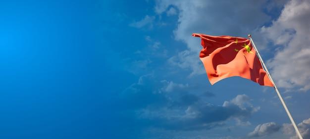 Nationalstaatsflagge von china