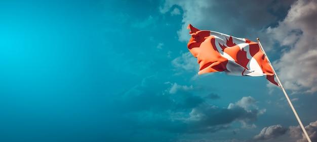 Nationalstaatsflagge von kanada