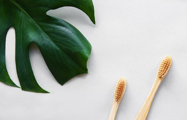 Natürliche bambuszahnbürsten