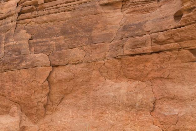 Natürliche beschaffenheit der roten felsen. farbige schlucht, ägypten, die sinai-halbinsel.