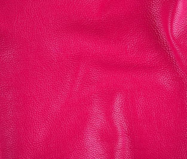 Natürliche helle rosa rindlederbeschaffenheit