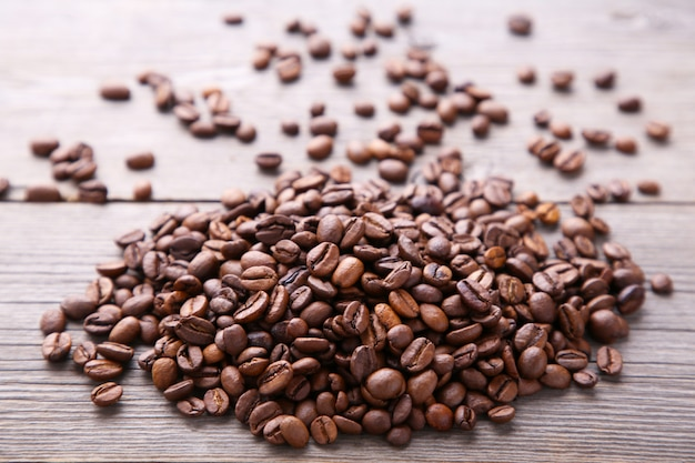 Natürliche kaffeebohnen