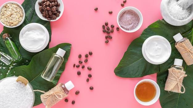 Natürliche kosmetische produkte