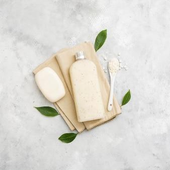 Natürliche seife und lotion