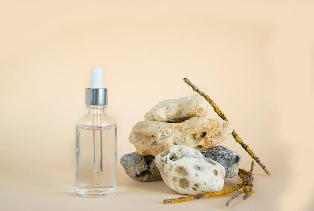 Natürliche seren für gesicht, hyaluronsäure, botulin, serum
