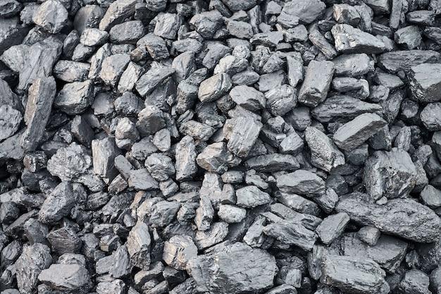 Natürliche steinkohlebeschaffenheit für hintergrund. kohleindustrie Premium Fotos
