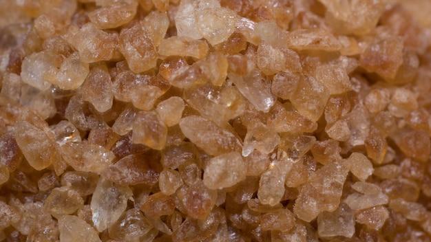 Natürlicher brauner zucker