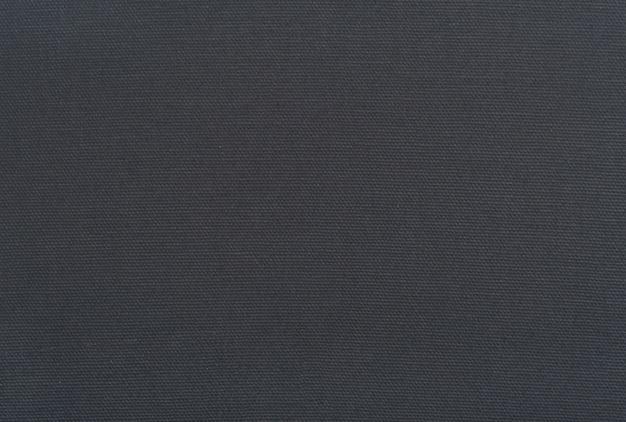 Natürlicher leinenbeschaffenheitshintergrund mit zartem gitter dunkelgrauer schwarzer leinwand