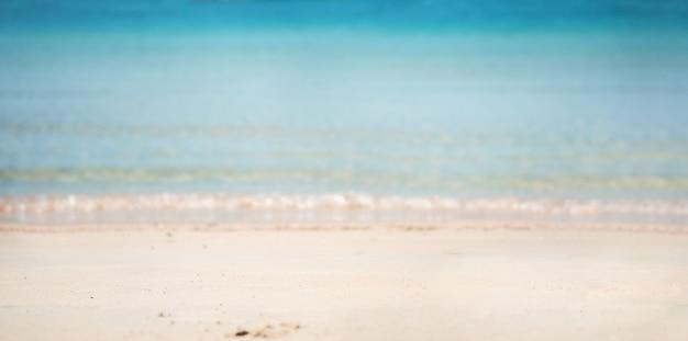 Natürlicher strandhintergrund. meer, küste