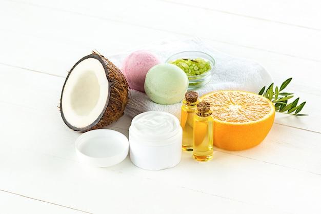 Natürliches kokosöl