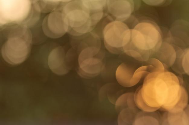 Natürliches licht sonnenuntergang orange bokeh