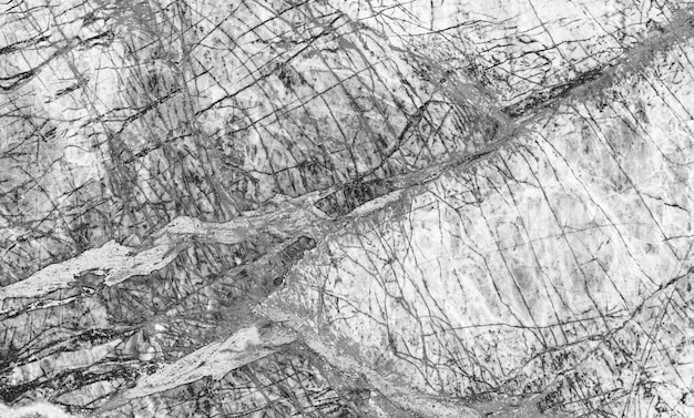 Natürliches marmormuster für hintergrund, abstrakter natürlicher marmor schwarzweiss