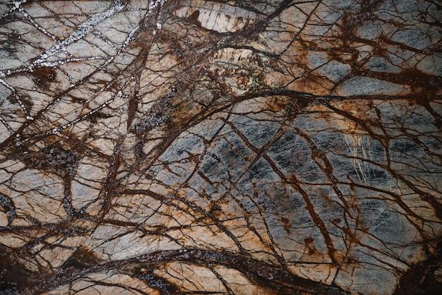 Natürliches muster des braunen marmors für oberfläche, abstrakt