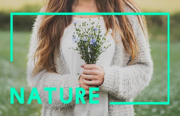 Natur-ökologie-natürliches umwelt-konzept