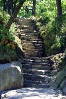 Natur treppe ii