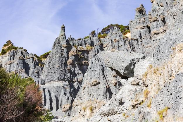 Naturbauer. wunder neuseelands. schönheit der nordinsel