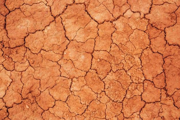 Naturhintergrund von geknacktem trockenem land