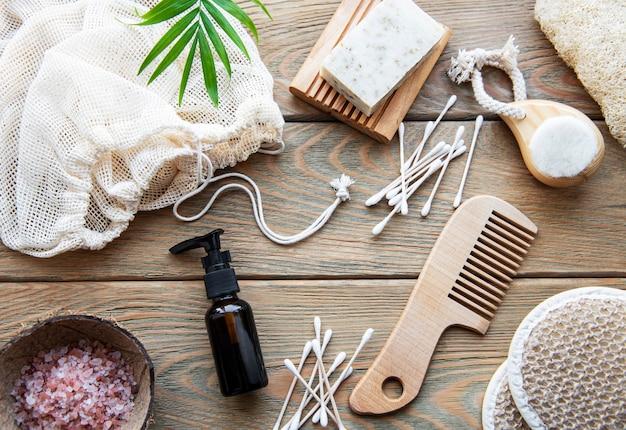 Naturkosmetikprodukte ohne abfall