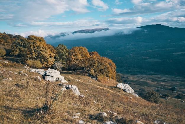 Naturlandschaft berge reisen sonne