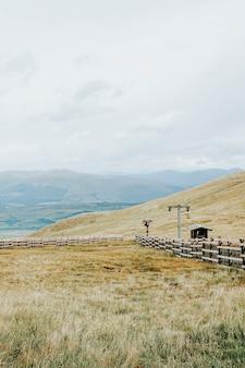 Naturlandschaft der highlands in schottland
