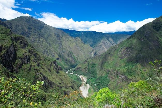 Naturlandschaft von peru