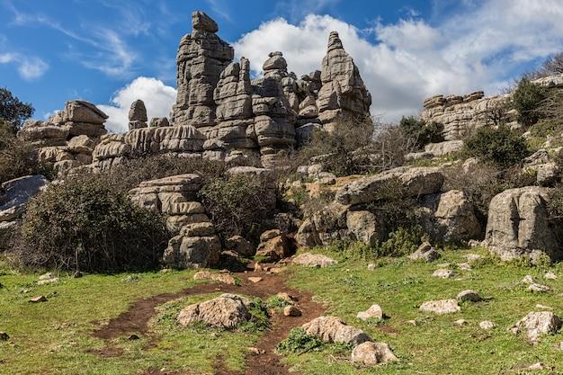 Naturpark torcal de antequera.