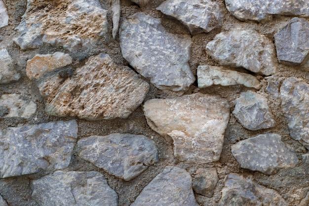 Natursteinwandbeschaffenheit